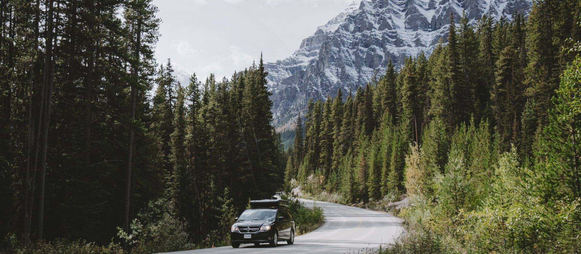 Road Trip through Banff National Park with North Campervans