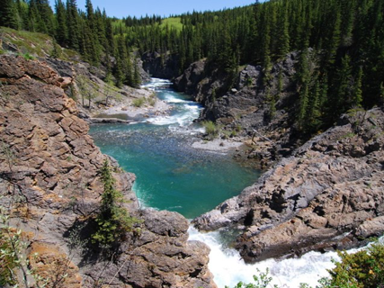 Sheep River Falls