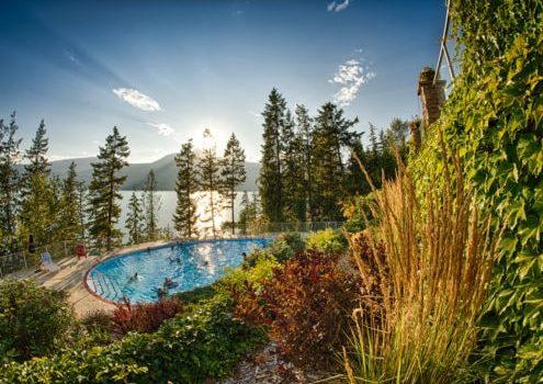Halcyon Hot Springs aka Campervan Rental Shower