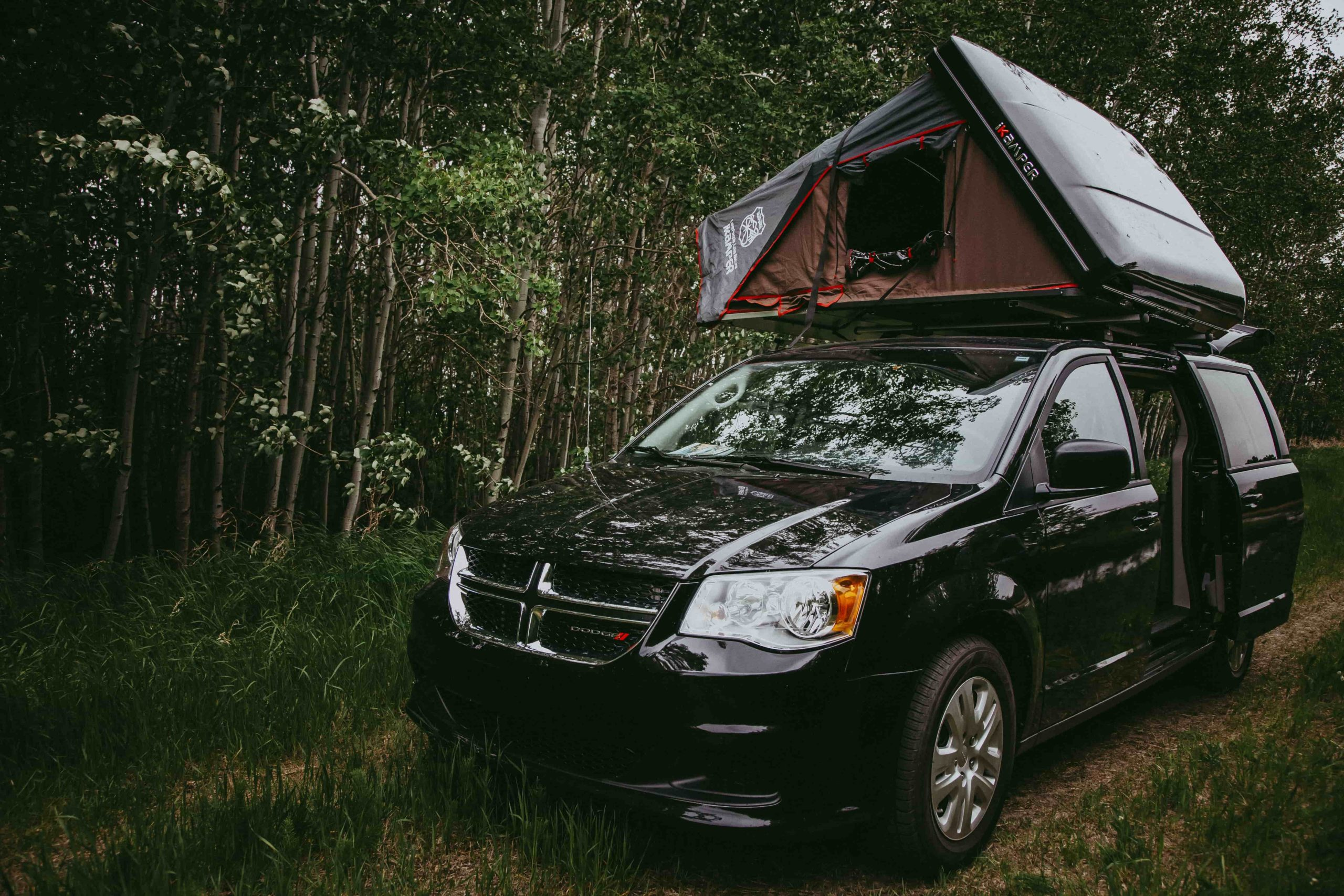 North Campervans The Whatever You Want It To Be Van Rental iKamper Rooftop Tent