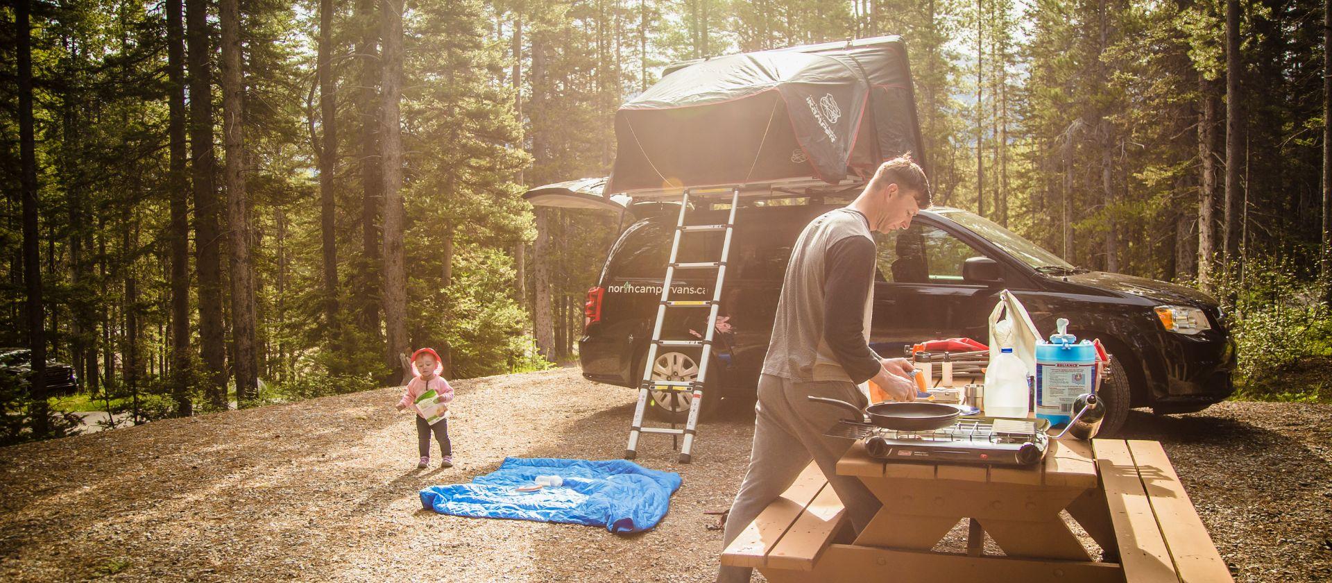 North Campervans Campervan and Rooftop Tent Rentals Calgary